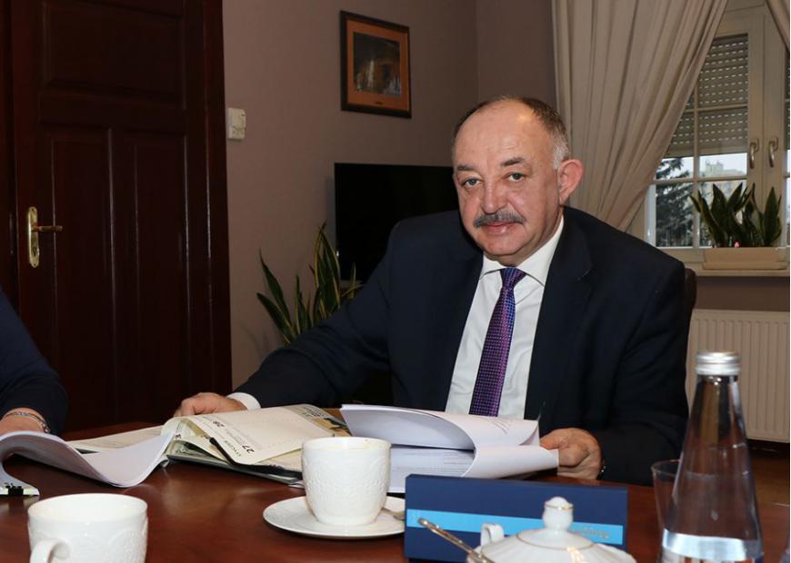 wicemarszałek Miron Sycz