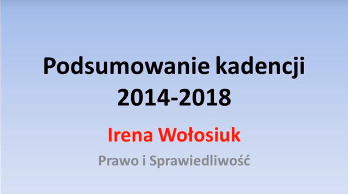 Miniatura filmu: Kadencja 2014-2018 w Sępopolu